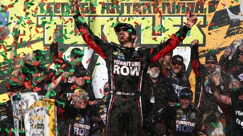 1. Truex is going to be tough