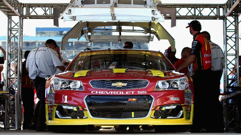 Pre-race inspections