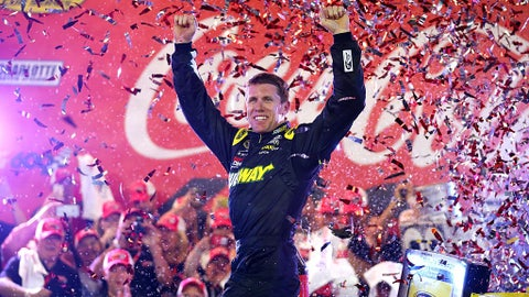 Carl Edwards, 9 wins at Chase tracks (8 in the Chase)