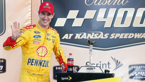Joey Logano, 7 wins at Chase tracks (5 in the Chase)