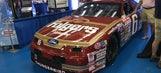 Mark Martin's classic No. 6 Ford Thunderbird shines at Charlotte Auto Fair