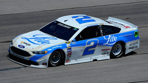 Brad Keselowski, Miller Lite throwback at Darlington