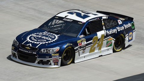 Chase Elliott, Kelley Blue Book at Bristol in April