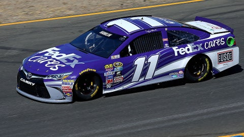 Denny Hamlin, Fedex Cares at several tracks
