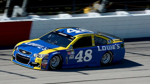 Jimmie Johnson, Lowe's Dale Sr. throwback at Darlington