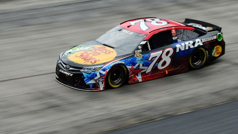 Martin Truex, Jr., Bass Pro Shops/NRA at Bristol in August