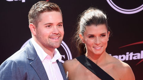 Danica Patrick and Ricky Stenhouse