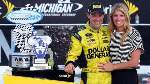 Matt and Katie Kenseth