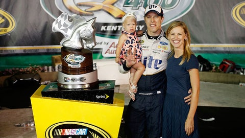 Brad Keselowski and Paige White
