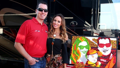 Kyle and Samantha Busch