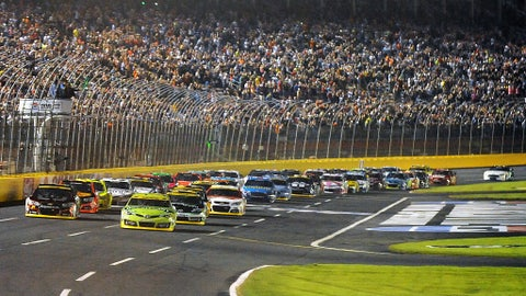 Active drivers with most points race wins at Charlotte