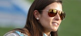 Danica Patrick joins breast cancer survivors to paint curbs pink at Martinsville