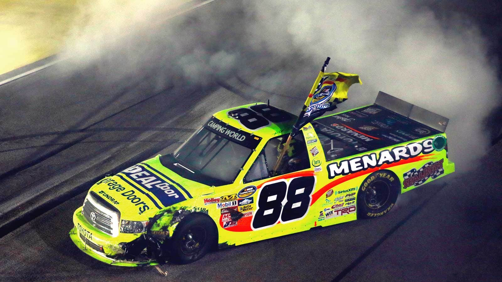 Matt Crafton enters new territory, and old, for Truck Series