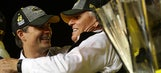 Jeff Gordon on eighth title for Johnson: 'I don't think he stops until he gets it'