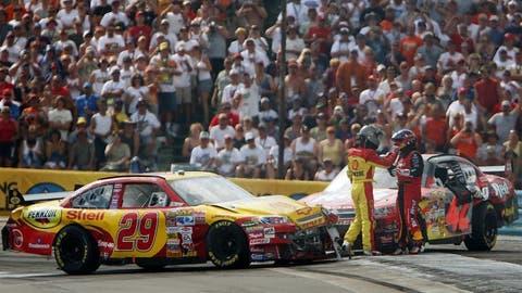 Watkins Glen 2007 -- Kevin Harvick and Juan Pablo Montoya