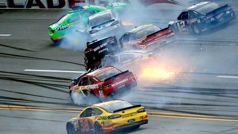 The Big One: Kurt Busch's 'Dega Crash