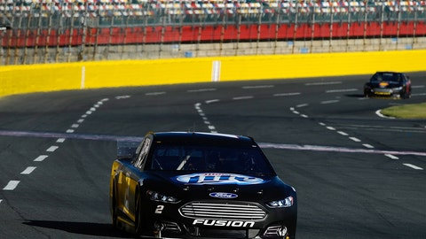 Gen-6 testing at Charlotte Motor Speedway