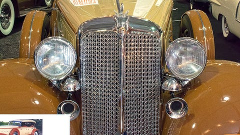 1933 Chrysler Imperial Dual Cowl Custom Phaeton