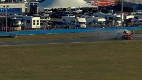 Big wreck at Rolex 24 at Daytona