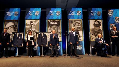 NASCAR history on stage