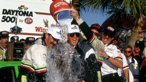 1993 Daytona 500: DJ shivers