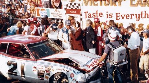 1976 Daytona 500: Pearson wins