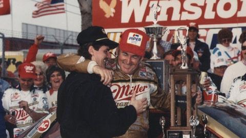 1988 Daytona 500: Allisons celebrate