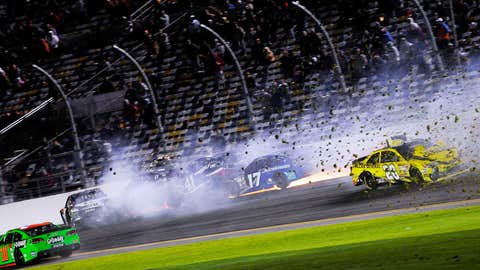 Motor mayhem at Daytona.