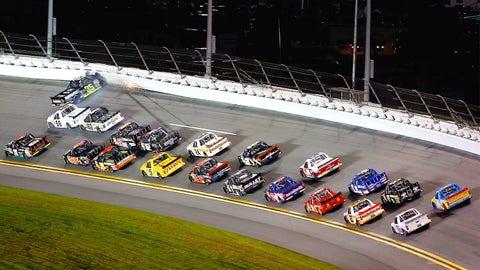 Truck Series racing at Daytona