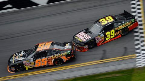 Nationwide Series racing at Daytona