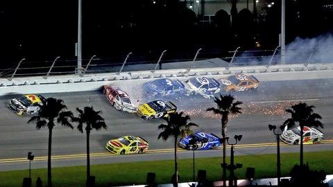 Daytona big wreck version two & three