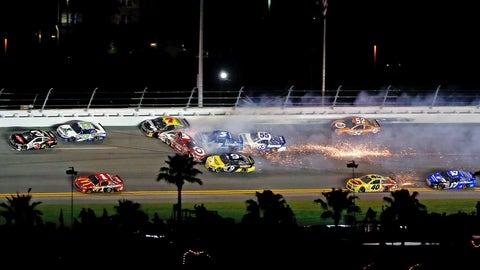 Daytona wrecks two & three