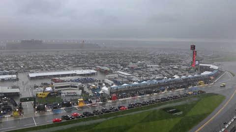 Rain in Daytona