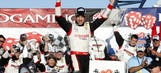Brad Keselowski holds off Kyle Busch in Vegas NNS race