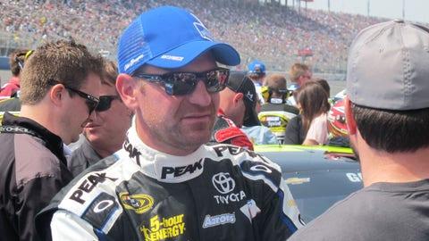 Pre-race in Fontana: Clint Bowyer