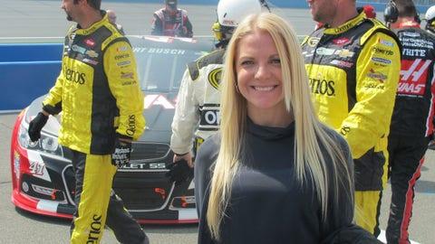 Pre-race in Fontana: Patricia Driscoll