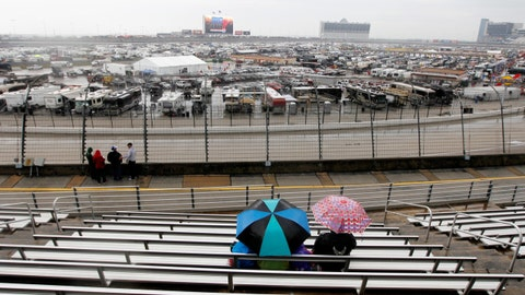 Photos: Soggy Sunday at Texas Motor Speedway