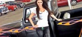 The lovely April Rose is back at Barrett-Jackson Palm Beach