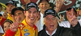 A reason to smile: Logano right at home at Team Penske