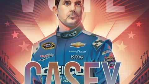 Sprint Fan Vote Top 10 Drivers: Casey Mears