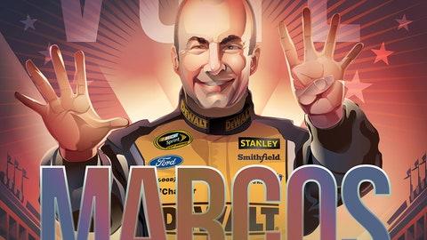 Sprint Fan Vote Top 10 Drivers: Marcos Ambrose
