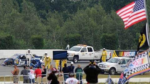 NASCAR Safety Improvements