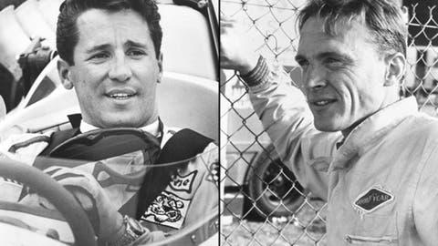 Mario Andretti and Dan Gurney