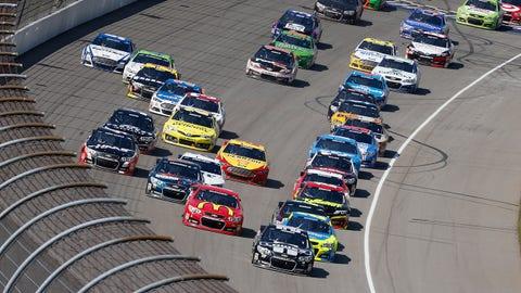 Photos: NASCAR heads to the 'Irish Hills' of Michigan
