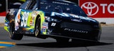 Carl Edwards holds off Jeff Gordon to win Toyota/Save Mart 350