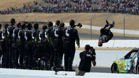 Photos: NASCAR goes left and right in Sonoma
