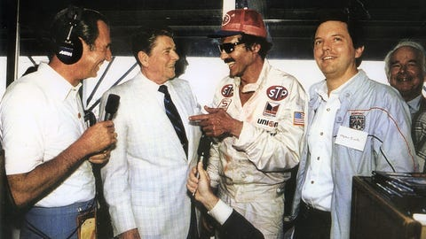Richard Petty throughout the years