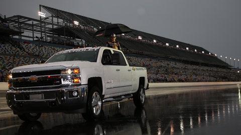 Scenes from a Saturday soaker at Daytona