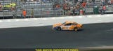Best in-car: 'Frickin' 33 came off the bottom and wiped us out'