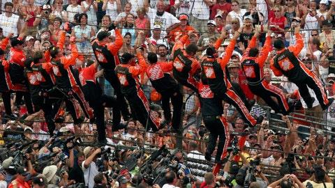 Photos: Twenty years of NASCAR winners at the Brickyard